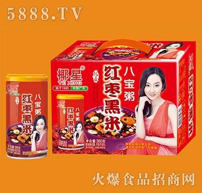 椰星红枣黑米八宝粥360gx12