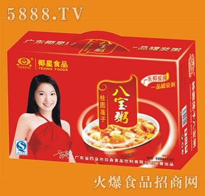 椰星新桂圆莲子八宝粥320gx12