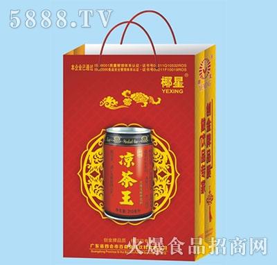 椰星凉茶王310g箱