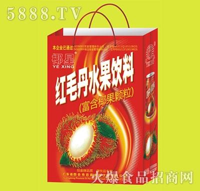 椰星红毛丹水果饮料250g礼盒