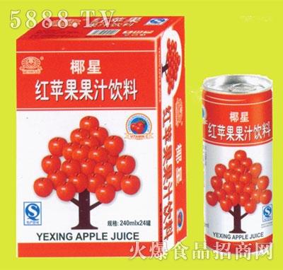 椰星红苹果果汁240mlx24