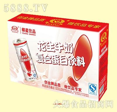 椰星花生牛奶蛋白饮料礼盒