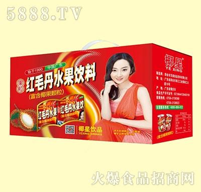 椰星红毛丹水果饮料礼盒装