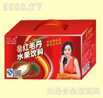 椰星红毛丹水果饮料礼盒