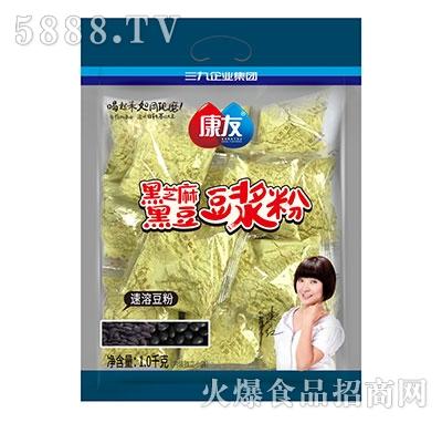 康友黑芝麻黑豆豆浆粉1kg