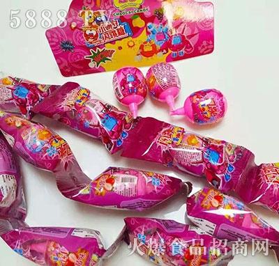 超彩闪跳糖草莓