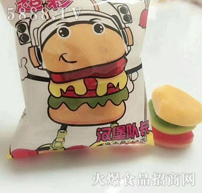 超彩汉堡队长糖果