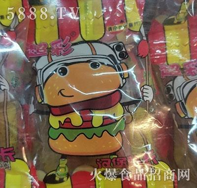 超彩汉堡队长糖果袋装