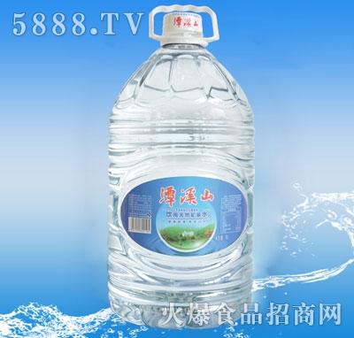 潭溪山天然矿泉水8L