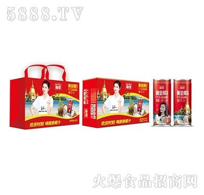 245mlx16罐椰泰黄金椰生榨椰子汁高罐礼盒装