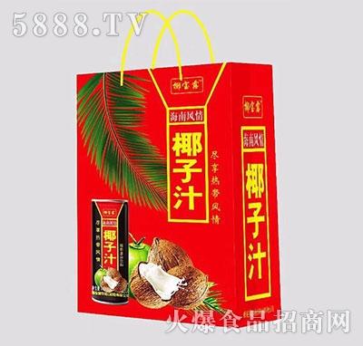 椰宝露海南风情椰子汁礼盒装