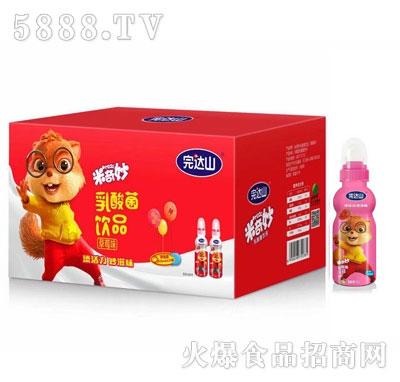 完达山米奇妙草莓味乳酸菌饮品箱装