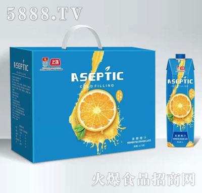 上首发酵橙汁