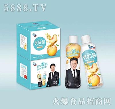 启致乳酸菌黄桃燕麦味1.25l×8瓶