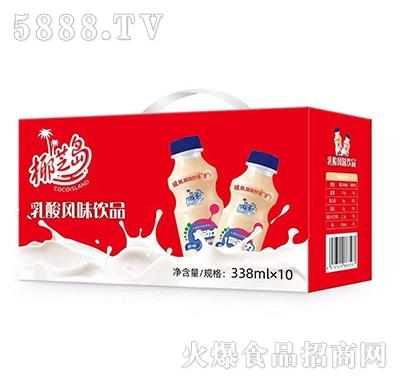 椰芝岛乳酸菌饮料338mlx10瓶