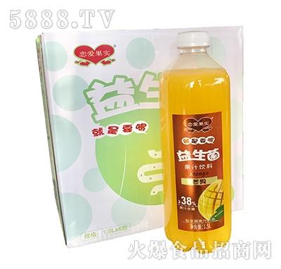恋爱果实益生菌芒果汁1.5Lx6