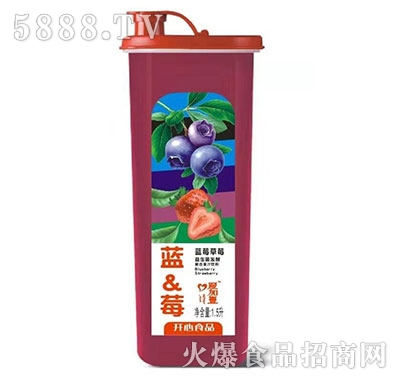 爱加壹蓝莓草莓果汁1.5L