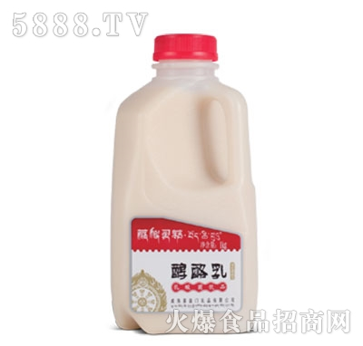 藏秘灵菇发酵型酸奶醇酪乳1kg