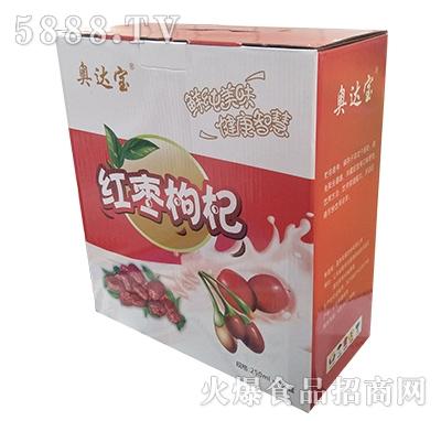 奥达宝红枣枸杞乳味饮品250mlx12盒