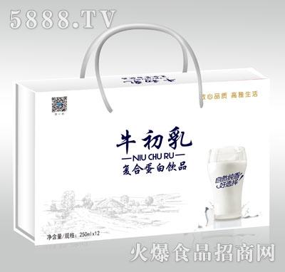 甄秀牛初乳复合蛋白饮品