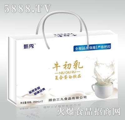甄秀牛初乳复合蛋白饮品250mlX12