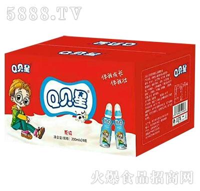 Q贝星乳酸菌原味200mlx24