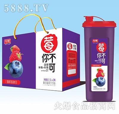 天合露莓你不可蓝莓树莓复合果汁1.5Lx3