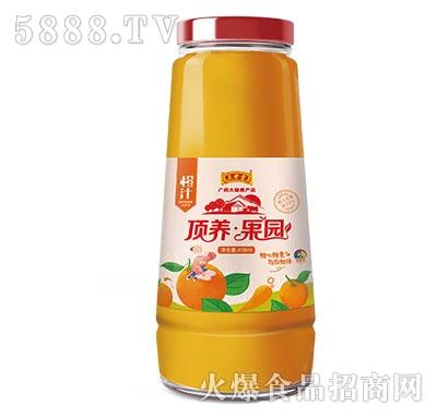 顶养果园橙汁418ml