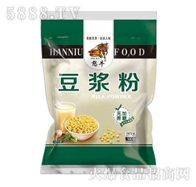 憨牛简装豆浆粉(无加蔗糖)500克产品图