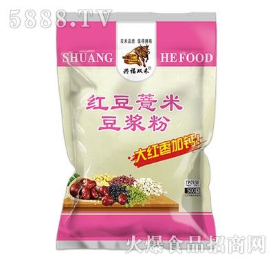 憨牛简装红豆薏米豆浆粉500克产品图