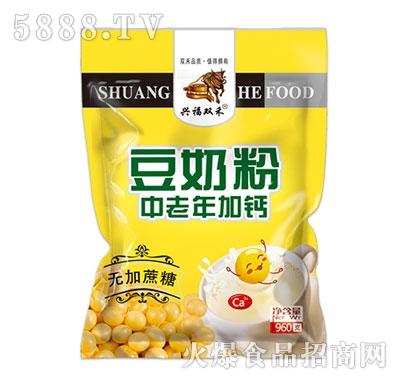 憨牛中老年加钙豆奶粉(无加蔗糖)960克产品图