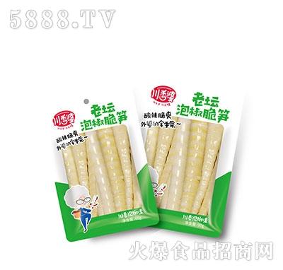 川香婆老坛泡椒脆笋100g产品图