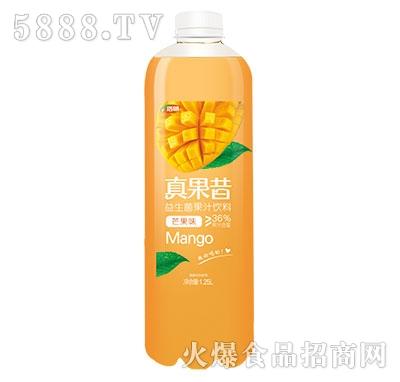 浩明真果昔益生菌芒果汁1.25L