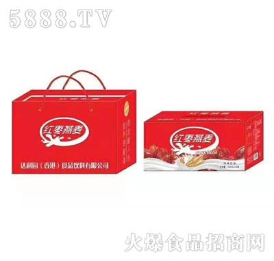 壹顶壹红枣燕麦风味饮料(礼盒)