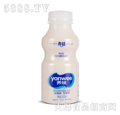 养味发酵酸奶无糖330ml