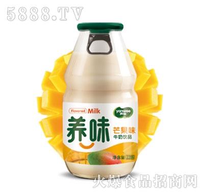 养味牛奶饮品芒果味220g