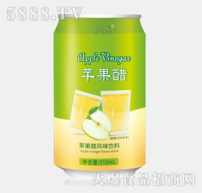 映优苹果醋风味饮品310ml