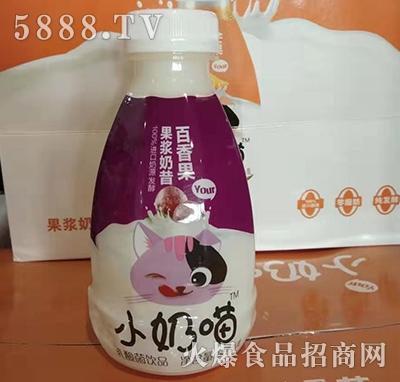 小奶喵乳酸菌果浆奶昔百香果味380ml