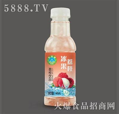 冰果荔枝饮品445ml
