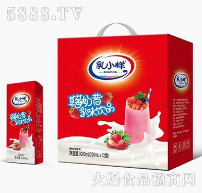 乳小样草莓奶昔乳味饮料