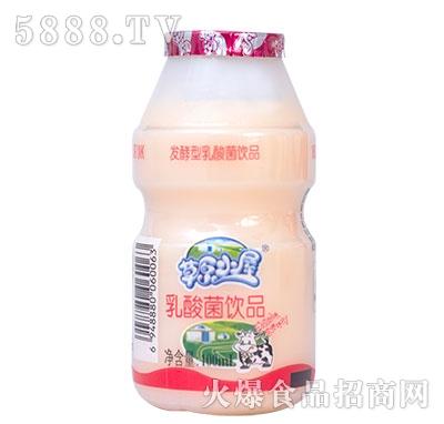 草原小屋乳酸菌饮料100ml瓶