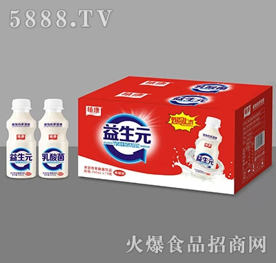 植康益生元乳酸菌黄桃味450mlx15