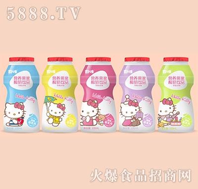 舒味营养果酱酸奶饮品