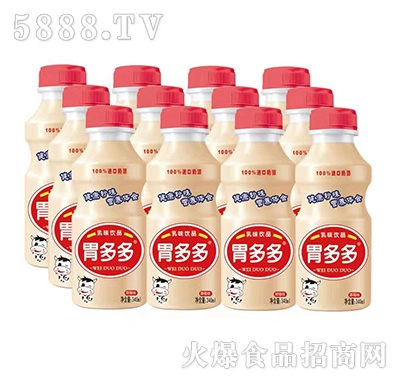 胃多多乳酸菌饮品草莓味340ml多瓶