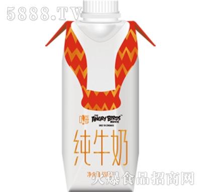 愤怒的小鸟红鸟款纯牛奶330ml产品图