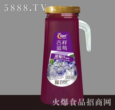 醇香果蓝莓汁饮料1.5L