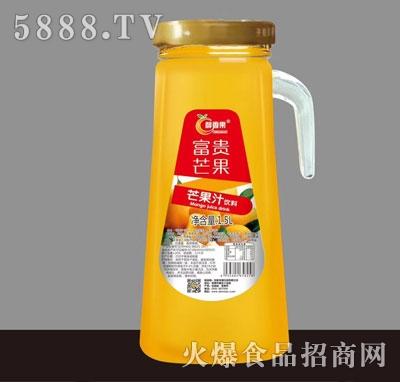 醇香果芒果汁饮料1.5L