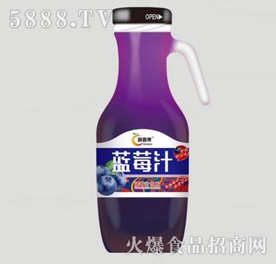 醇香果蓝莓汁饮料