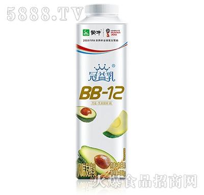 蒙牛冠益乳BB-12发酵乳牛油果口味