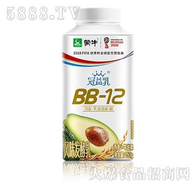 蒙牛冠益乳BB-12发酵乳燕麦牛油果口味
